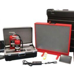 Мобильный лазерный симулятор огнетушителя
